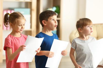 Gesangsunterricht für Kinder