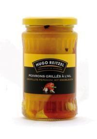 Reitzel gegrillte Paprika mit Knoblauch