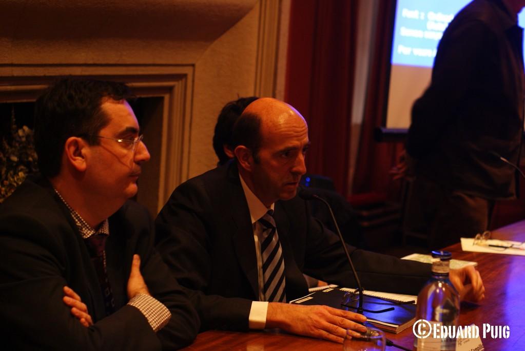 El president de l'AVP, Sr. Campillo