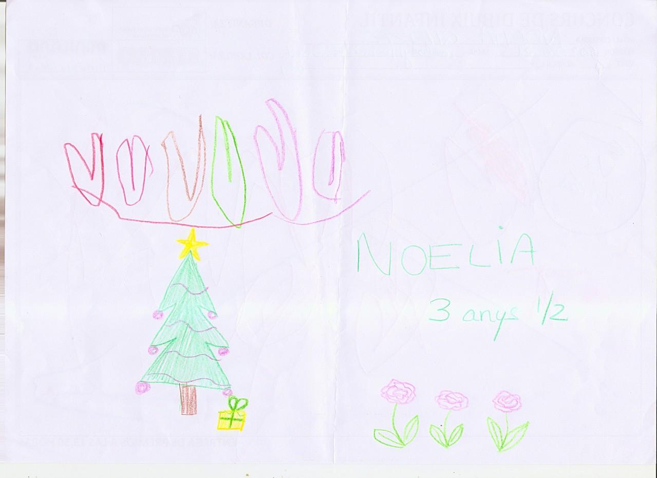 Noelia - 3,5 anys