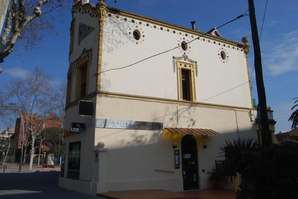 Farmacia Pedralbes (Autor: M. García)