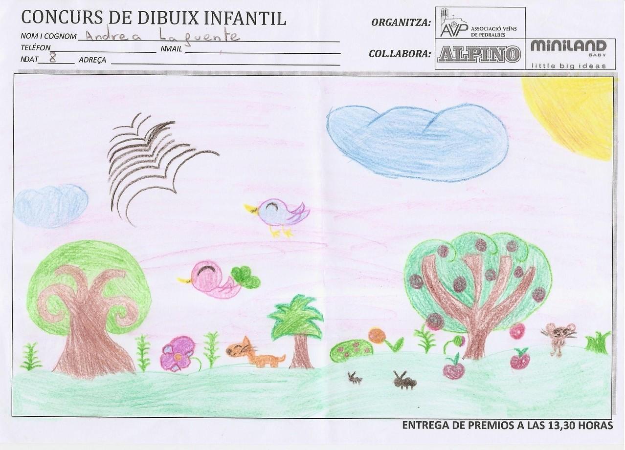Andrea Lafuente - 8 anys