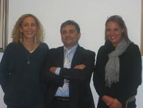 Il Presidente Salsano e la Dr.ssa Danila Bianchini