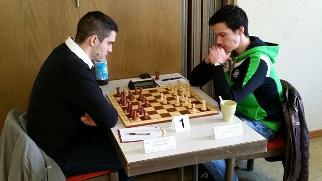 Nikolas Lubbe gegen Gabor Papp, zweite Schachbundesliga 2016