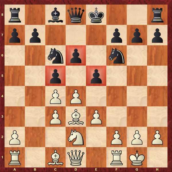 Der LOG auf c1 bleibt zunächst zurück, da a3 auch hier kein gutes Feld darstellen würde.