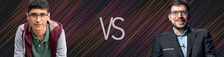 Firouzja-MVL, Magnus Carlsen Invitational, Runde 5