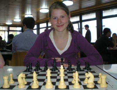 Schachspielerin Melanie Lubbe (Ohme) beim Deizisau Open 2011
