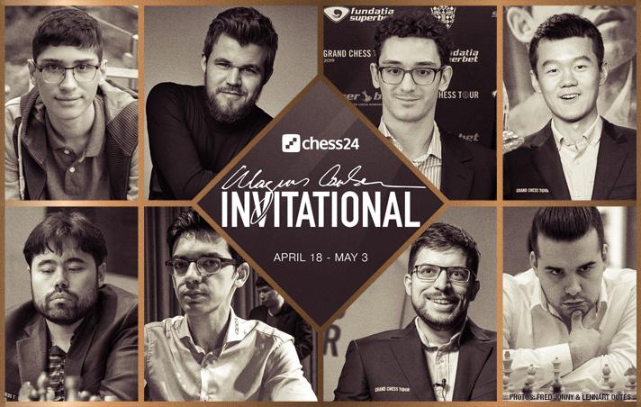 Magnus Carlsen Invitational, Spieler, Teilnehmer
