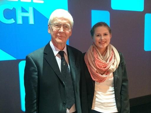 Mit GM Helmut Pfleger im WDR-Studio