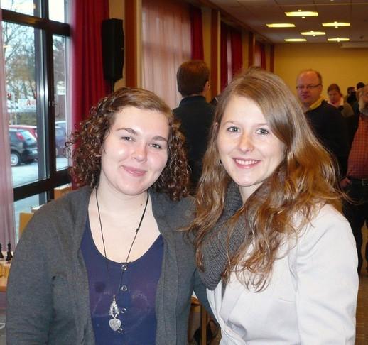 Böblinger Schach-Open 2011, Melanie Lubbe und Manuela Mader