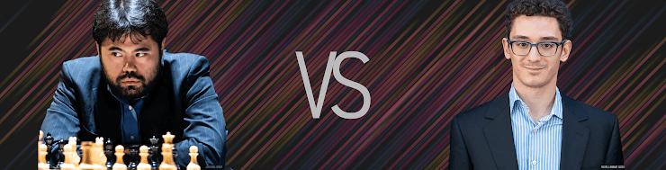 Magnus Carlsen Invitational, Hikaru Nakamura-Fabiano Caruana, Runde 5