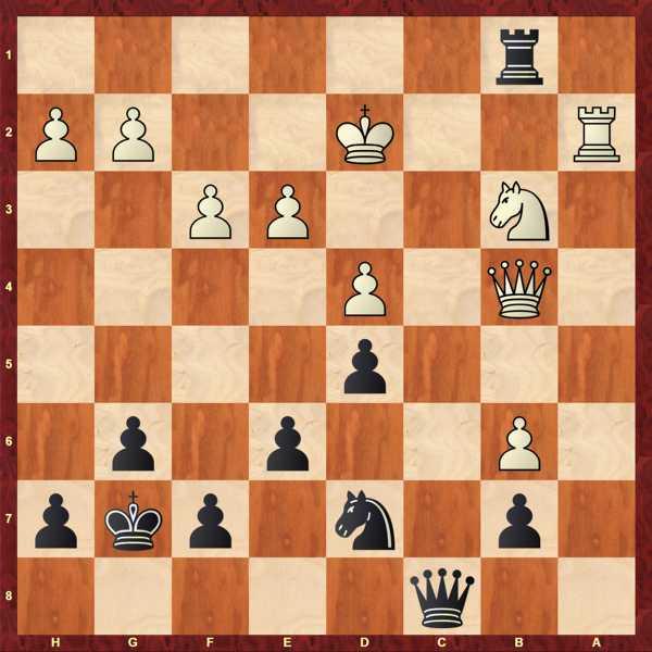 Köllner - Lubbe, SaZ: Beste Fortsetzung für Schwarz? Meine Aufgabe des Tages! Lösungen stehen in den jeweiligen Partien ;)