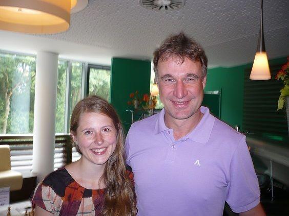 Mit Marco Bode beim GM-Turnier in Bremen 2013