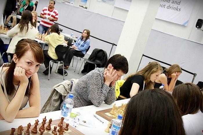 Deutsche Frauen Schach-Nationalmannschaft, Schacholympiade 2014 in Tromsø