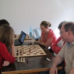 Schach-Länderkampf Deutschland gegen Polen, 2012 in Gladenbach