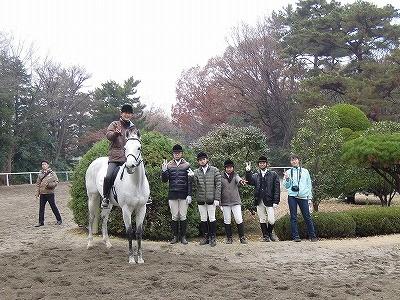 関東高校馬術大会競技本番
