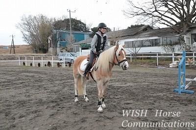 乗馬 ツーポイントの姿勢