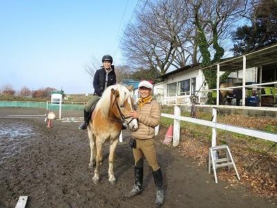 優しい馬と