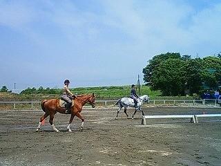 乗馬の季節