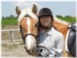 乗馬で愛情!