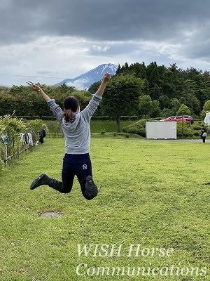 富士山ジャンプ