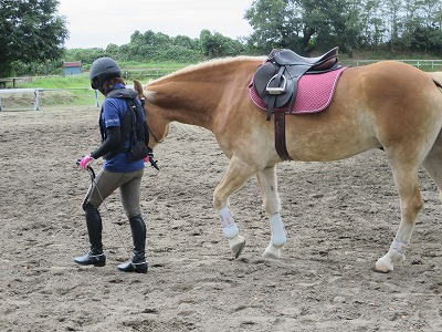 馬と気持ちが通い合う