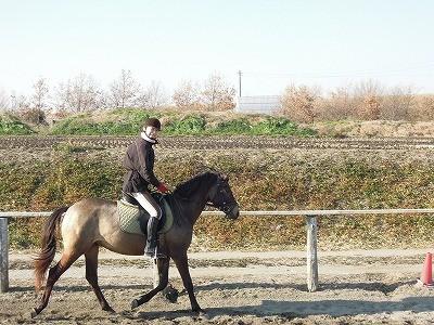 ニッコリ乗馬♪