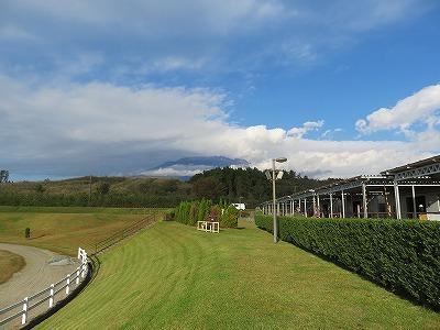 この時富士山は雲に隠れていました、惜しい!