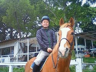 楽しい体験乗馬