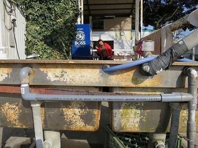 水道管修理頑張りました
