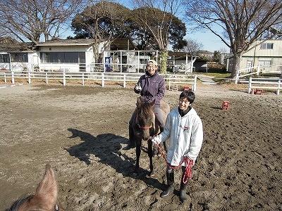馬と遊ぶ乗馬クラブです