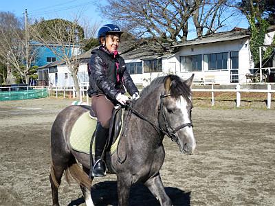 乗馬の楽しみはお互いの成長