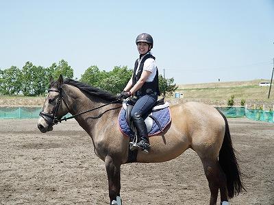 乗馬は笑顔だ!