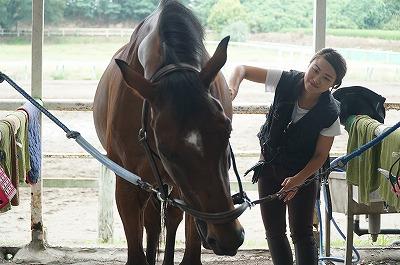 馬に対する考え方が違うんですよ