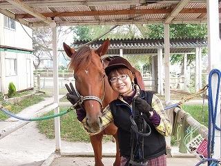 千葉茨城の乗馬クラブでビジター騎乗