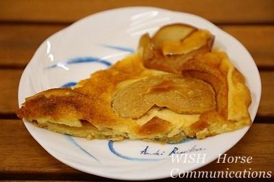 手作りアップルケーキ