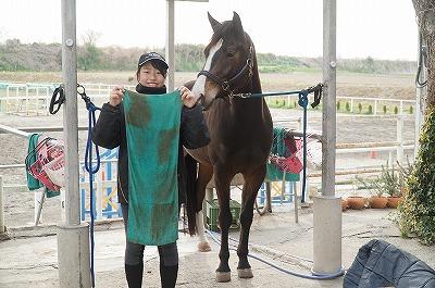 馬の健康あってこその乗馬です