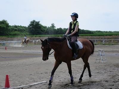 楽しい乗馬レッスン