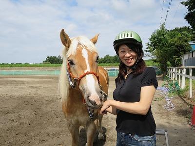 受容と応答の乗馬