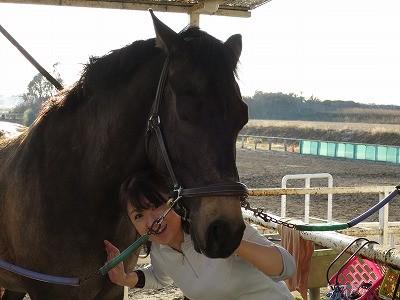 人も馬も笑顔がいいね