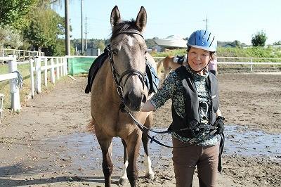 馬と心を通わせる
