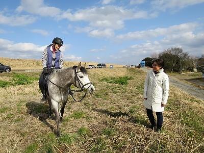 乗馬ってとても楽しいですよ