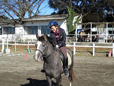 馬が愛情を受け取った時の表情