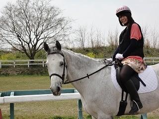 茨城の雑誌用乗馬撮影風景
