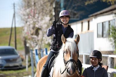 馬とコミュニケーションできる乗馬