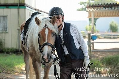 優しい人には優しい乗馬