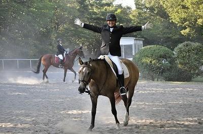 馬術競技会風景