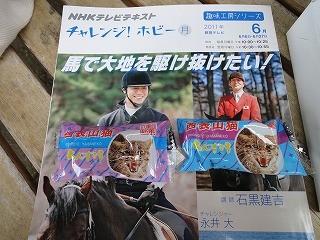 NHK乗馬番組のテキスト