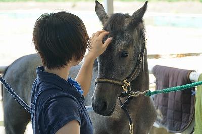 馬の心を大切にする
