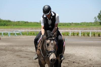 乗馬は繊細さと愛情と